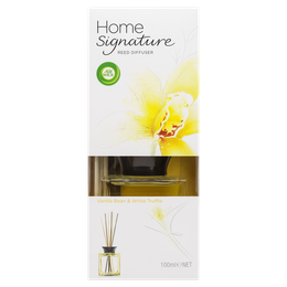 Air Wick Home Signature Reed Vanilla Bean & White Truffle 100ml