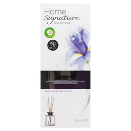 Air Wick Home Signature Reed Water Iris & Night Orchid 100ml