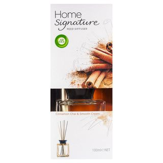 Air Wick Home Signature Reed Cinnamon Chai & Smooth Cream 100ml