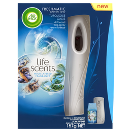 Air Wick Life Scents Freshmatic Device Turquoise Oasis