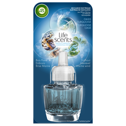 Recharge Diffuseur Electrique Life Scents Oasis Turquoise