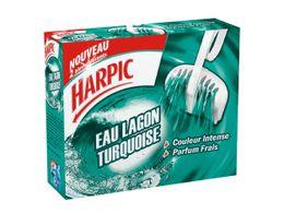 Harpic Bloc Cuvette Eau Lagon Turquoise