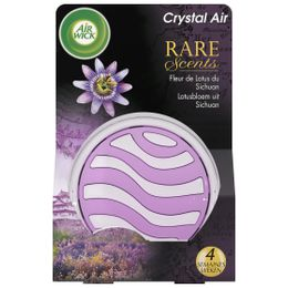AirWick Crystal'air Rare Scents Fleur de Lotus du Sichuan ¹