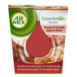 Air Wick Bougie Essential Oils Pomme et Cannelle ¹