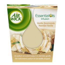 Air Wick Bougie Essential Oils Vanille Gourmande ¹