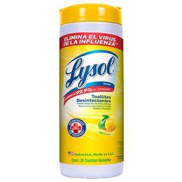 Lysol® Toallitas Desinfectantes para Superficies - Citrus 35 ct