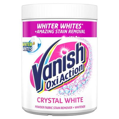 Vanish Oxi Action Whitener Stain Remover Powder Vanish Uk