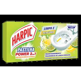 Harpic Pastilha Adesiva 2 em 1 Citrus - 3x9g cada