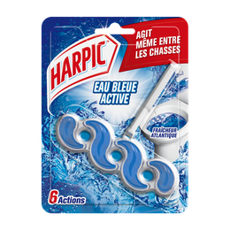 Harpic Bloc Cuvette Color Power Eau Bleue ⁽¹⁾