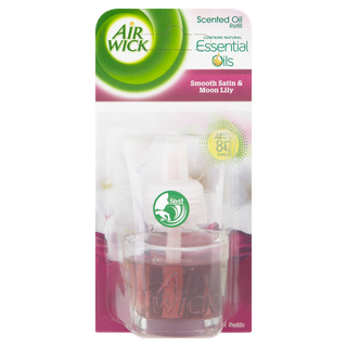 Air Wick Electrical Plug-in Single Refill Smooth Satin & Moon Lily