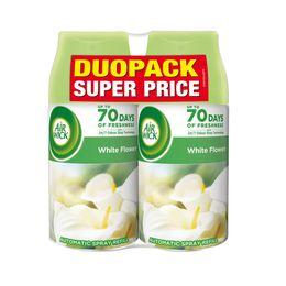 Freshmatic náplň do osvěžovače vzduchu - Bílé květy DUOPACK