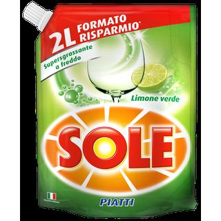 Sole Piatti Ecoricarica Limone Verde