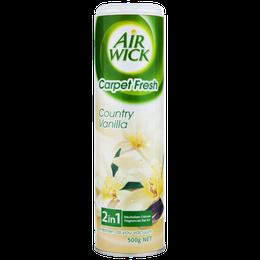 Air Wick 2 in 1 Floor Carpet Deodorant Powder Country Vanilla 500g