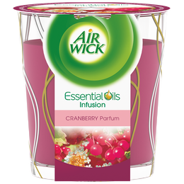 Air Wick Bougie Essential Oils Cranberry