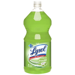 Lysol Superfices Desinfectante Manzana Verde 1800 ml