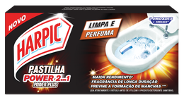 Pastilha Adesiva 2 em 1 Power Plus