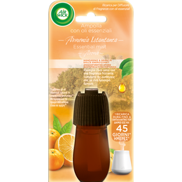Mandarino e Arancia Dolce Ricarica per Diffusore di Fragranze con oli essenziali