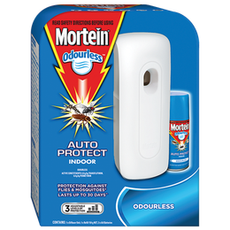 MORTEIN  AUTO PROTECT INDOOR ODOURLESS PRIME