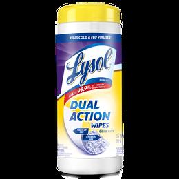 Lysol Toallitas Desinfectantes Dual Action