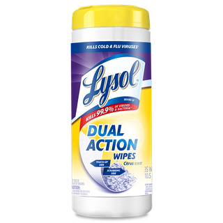 Lysol® Toallitas Desinfectantes para superficies Wipes -  Dual Action