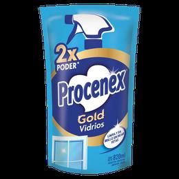 Limpiador Líquido Vidrios Repuesto Procenex 820 ml
