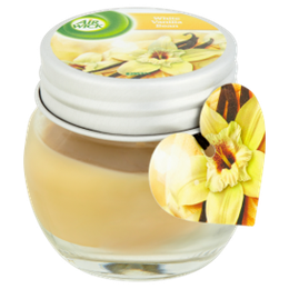 Airwick Small Jar Candle White Vanilla Bean