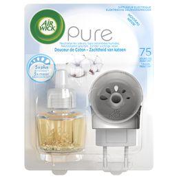 Air Wick Diffuseur Electrique Pure Douceur de coton