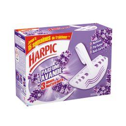 Harpic Bloc Cuvette parfumé lavande ⁽¹⁾
