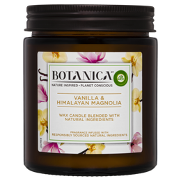 Botanica By Air Wick Candle Vanilla & Himalayan Magnolia 205g