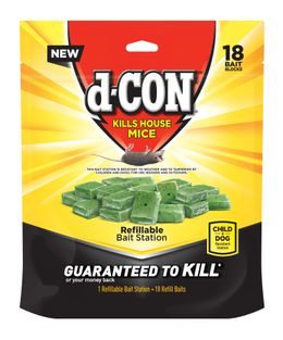 d-CON Refillable Corner Fit Bait Stations