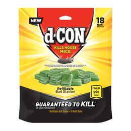 d-CON® REFILLABLE BAIT STATION