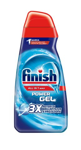 Finish Power Gel ALL IN 1 MAX 3X Poteri di Brillantezza & Protezione