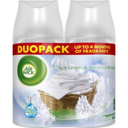 Air Wick Freshmatic Refills Duopack Cool Linen & Almond Blossom 500 ml