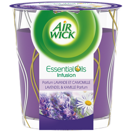 Air Wick Bougie Essential Oils Lavande