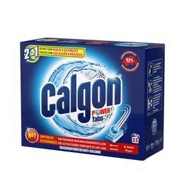Calgon Tabs 2en1 Power 55 pièce
