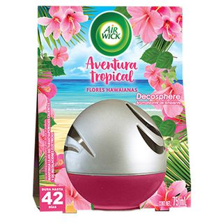 AIR WICK® DECOSPHERE® & AVENTURA TROPICAL FLORES HAWAIANAS 75ML