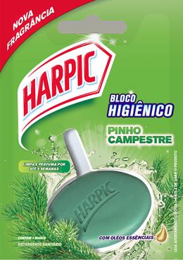 Harpic Bloco Perfumado Pinho 26g