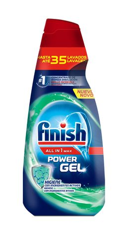 Finish Gel Lavavajillas Higiene