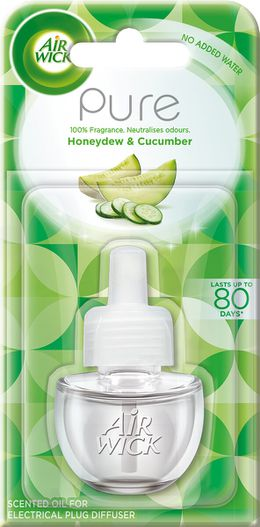Air Wick Air Freshener Honeydew And Cucumber Plug In Refill 19ml