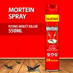 Mortein Flying Insect Killer INSTA 550ML Aerosol