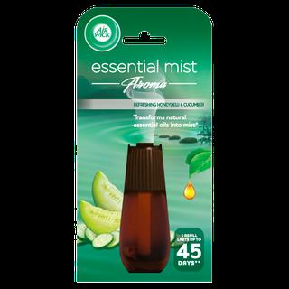 Air Wick Air Freshener Essential Mist Refill Honeydew & Cucumber Blossoms 20ml