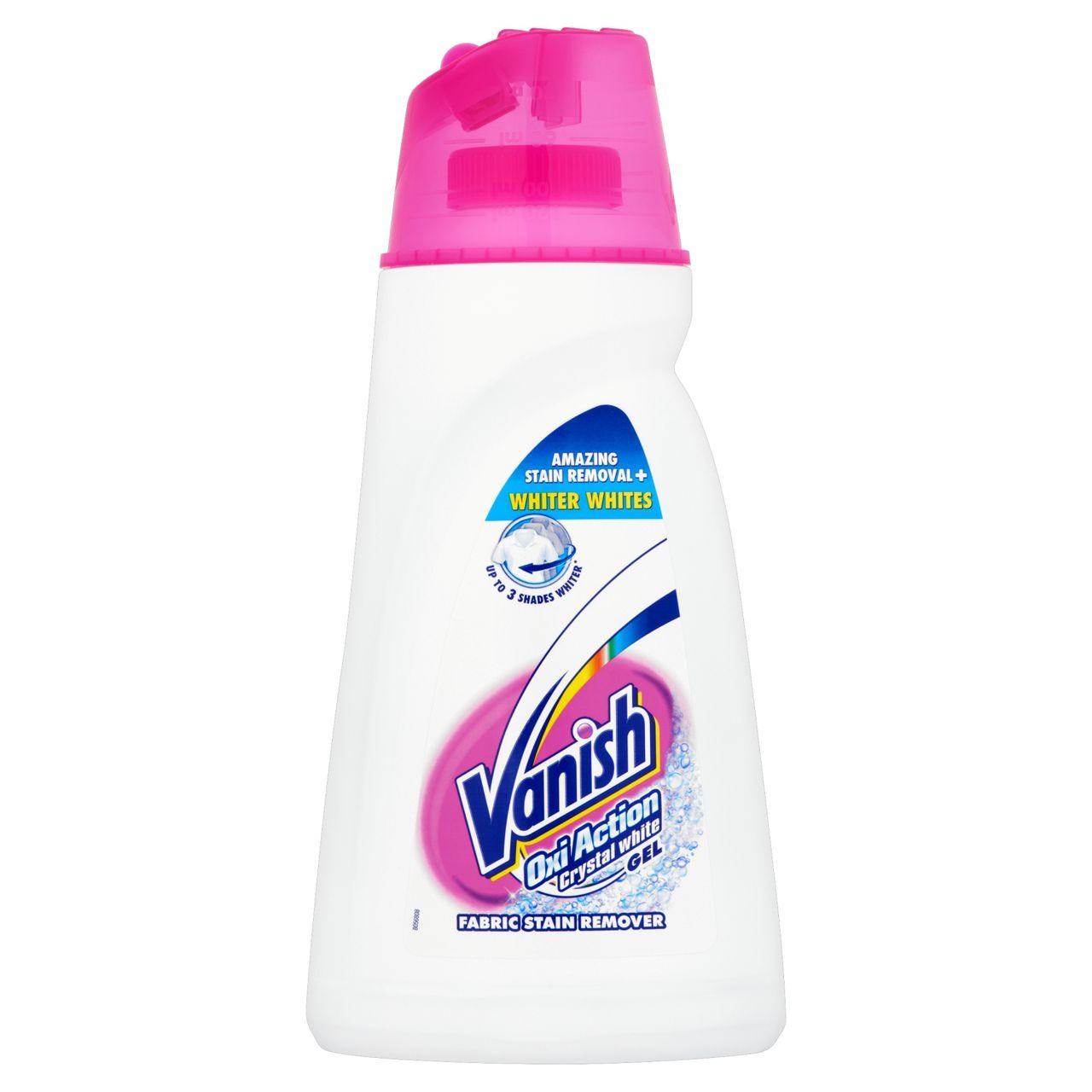White Wash Gel Stain: Vanish Oxi Action Crystal White Gel