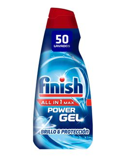 Gel para lavavajillas Finish All in One Max Regular