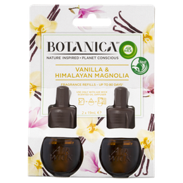 Botanica by Air Wick Liquid Electric Vanilla & Himalayan Magnolia Twin Refill 38mL