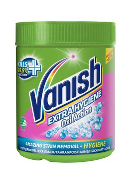 Vanish Oxi Action Extra Hygiene Pulver 520 g