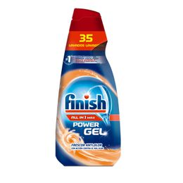 Finish Gel Lavavajillas Frescor Anti-Olor