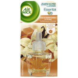 Air Wick Recharge Diffuseur Electrique Fleur de Vanille et Délices de Caramel ¹