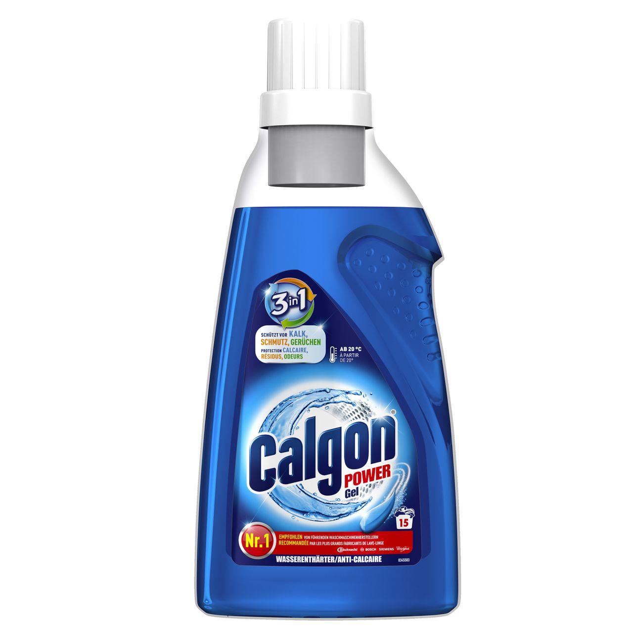Calgon 3in1 Power Gel Kalkschutz Für Ihre Waschmaschine Calgon
