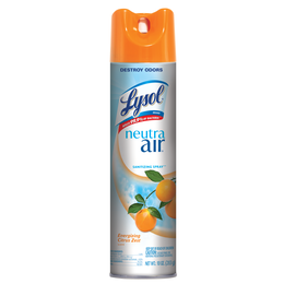 Lysol aerosol desinfectante para superficies y ambiental - Citrus Zest Scent