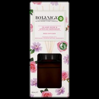 Botanica by Air Wick Reed Island Rose & African Geranium 80mL